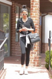 Jessica Gomes Leaves a Gym in Beverly Hills