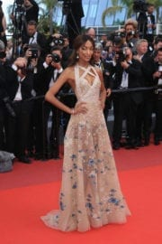 Jourdan Dunn at The Killing of a Sacred Deer Premiere at 70th Annual Cannes Film Festival