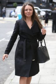 KAREN DANCZUK Out and About in London
