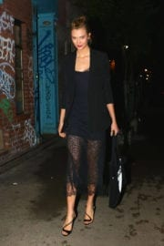 KARLIE KLOSS Night Out in New York