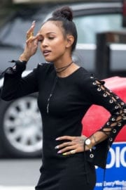 KARREUCHE TRAN Out in New York