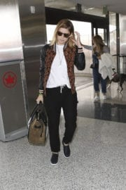 Kate Mara at LAX Airport in Los Angeles