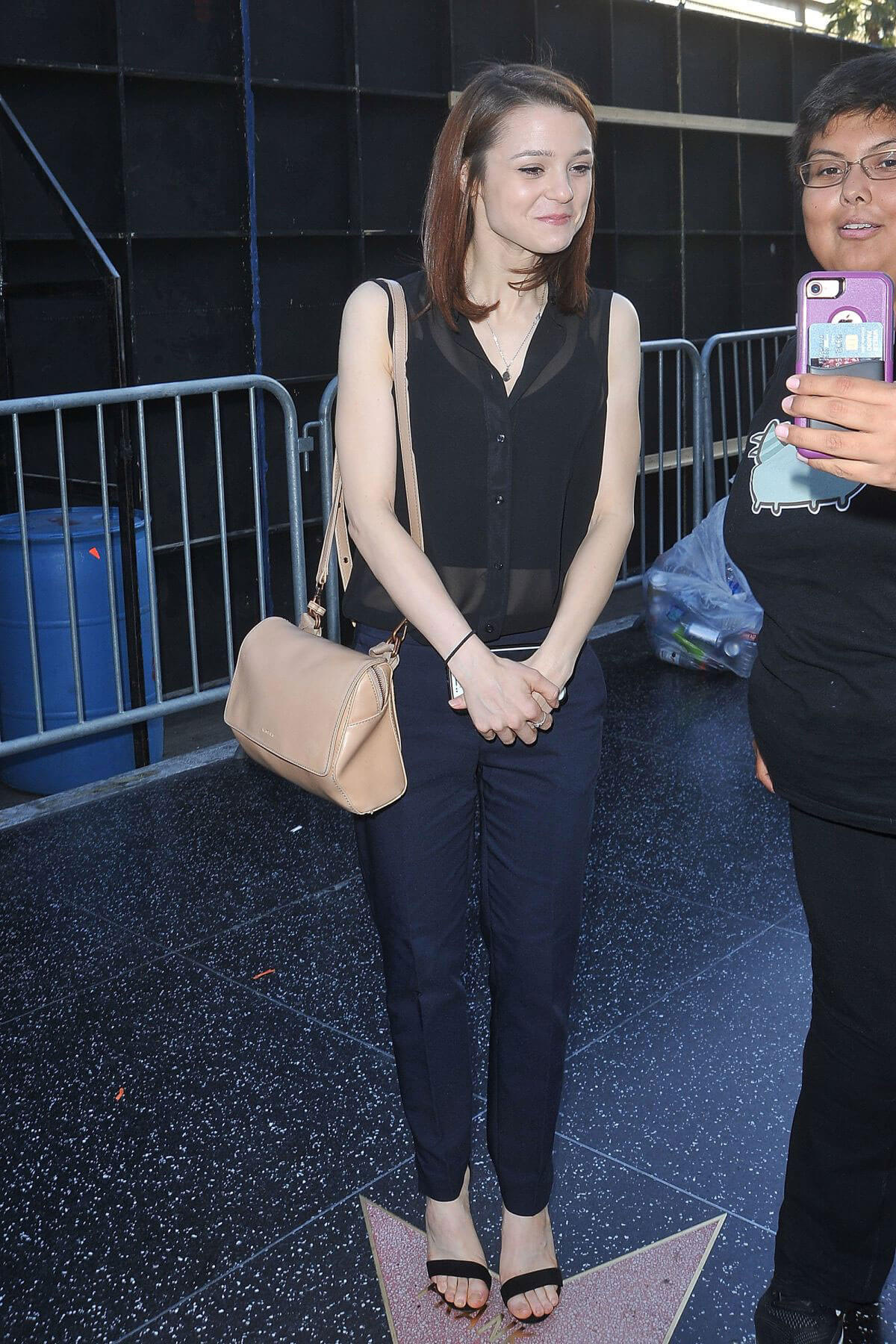 Kathryn Prescott Out and About in Los Angeles