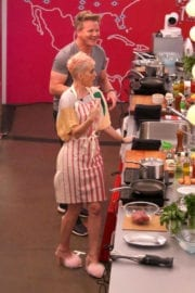 Katy Perry Cooking at Witness House in Los Angeles