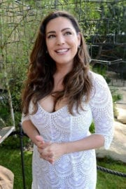 KELLY BROOK at 2017 RHS Chelsea Flower Show in London