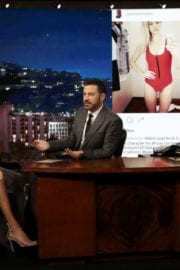KELLY ROHRBACH at Jimmy Kimmel Live