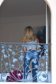 KIMBERLEY GARNER Out and About in Cannes
