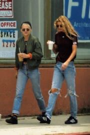 KRISTEN STEWART and STELLA MAXWELL Out in West Hollywood