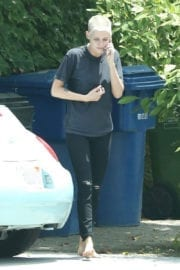 KRISTEN STEWART Out and About in Los Angeles