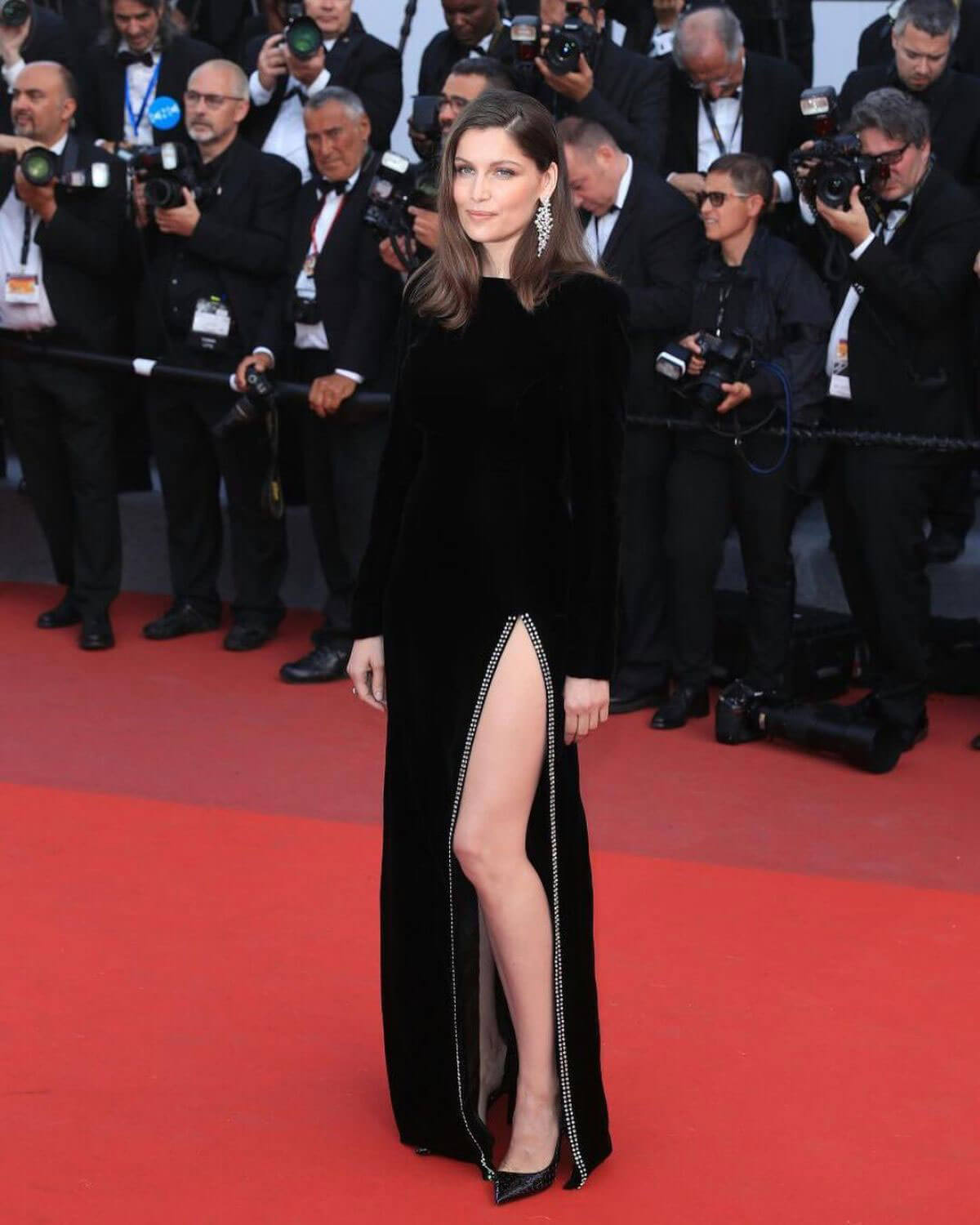 LAETITIA CASTA at The Meyerowitz Stories Premiere at 70th Annual Cannes Film Festival
