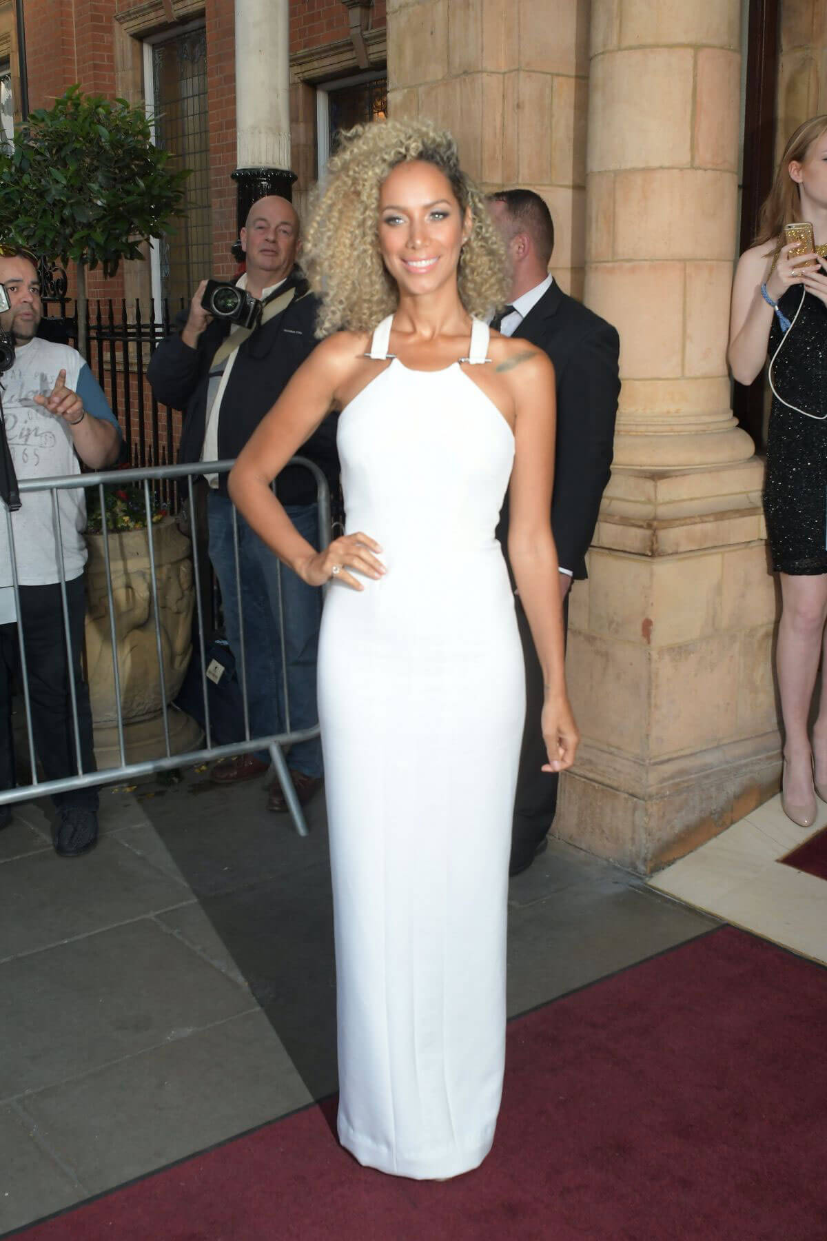 Leona Lewis at One for the Boys Charity Event in London