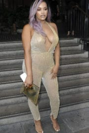 LETISHA GREY at Miss Pap Launch Party in London