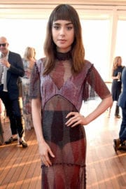 Lily Collins at Variety and HBO Dinner at Cannes Film Festival