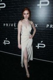 MADELAINE PETSCH at Prive Revaux Launch in Los Angeles