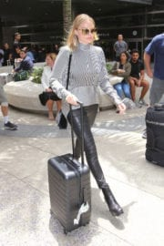Margot Robbie at LAX Airport in Los Angeles