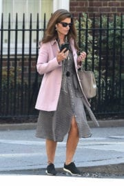 MARIA SHRIVER Out and About in New York