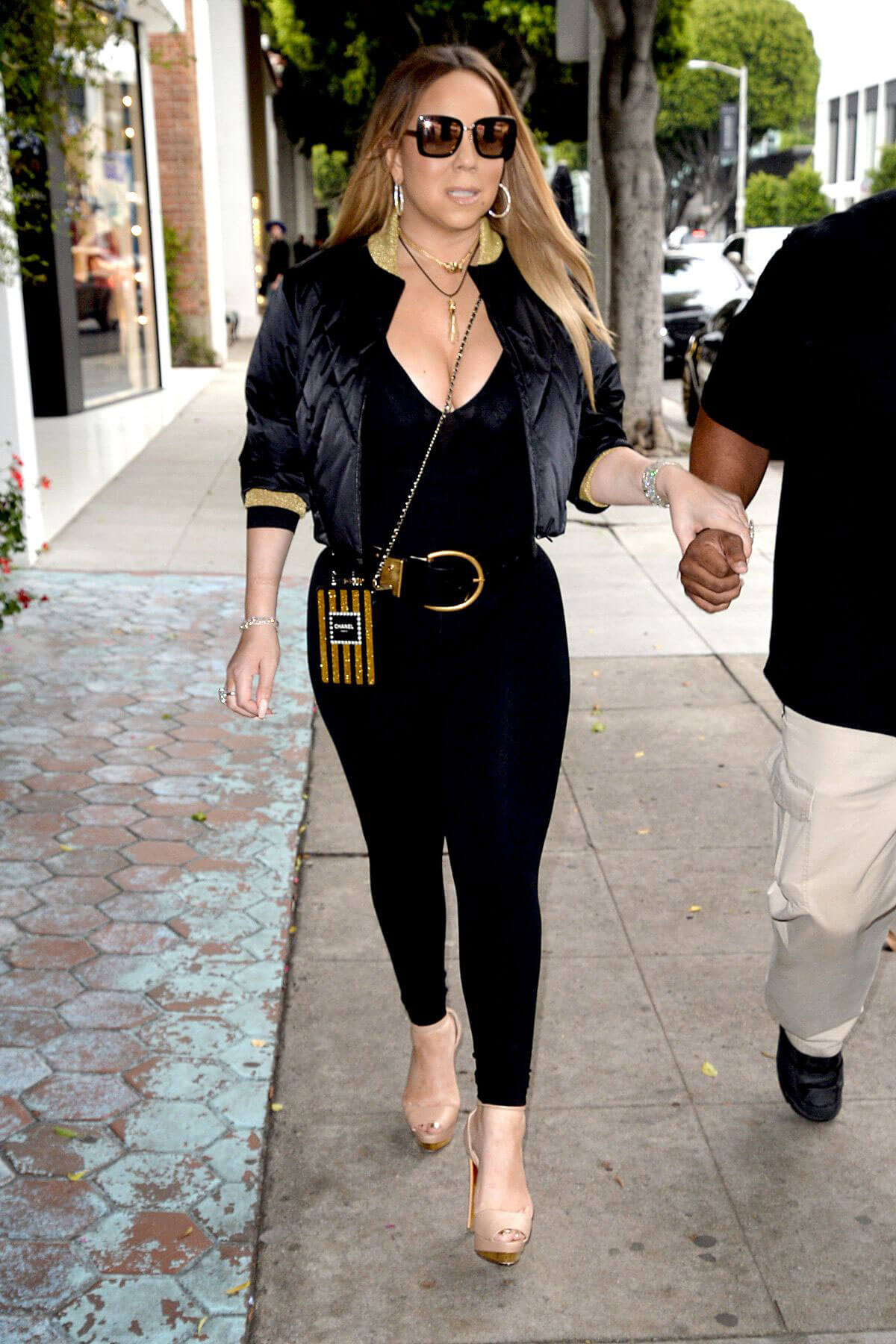 Mariah Carey Out in Los Angeles
