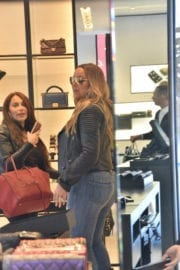 Mariah Carey Out Shopping in Beverly Hills