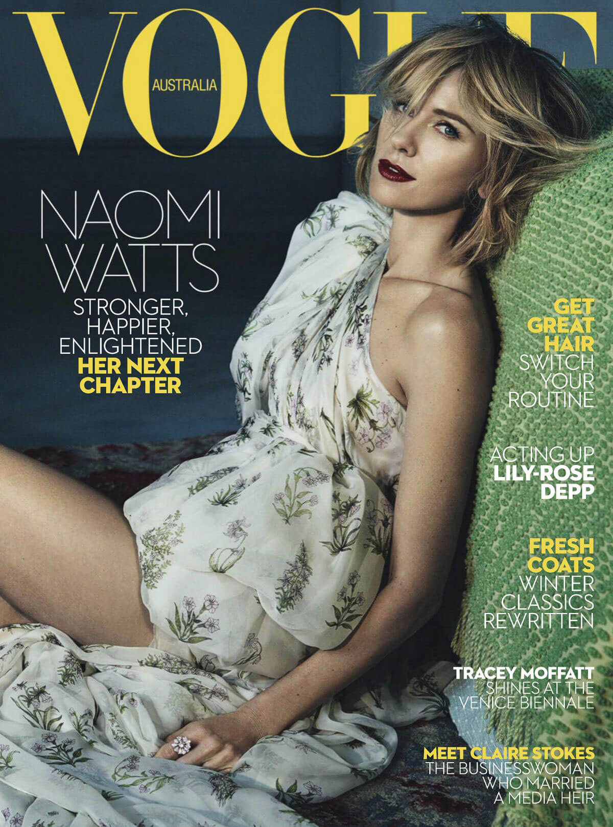 Naomi Watts for Vogue Magazine, June 2017