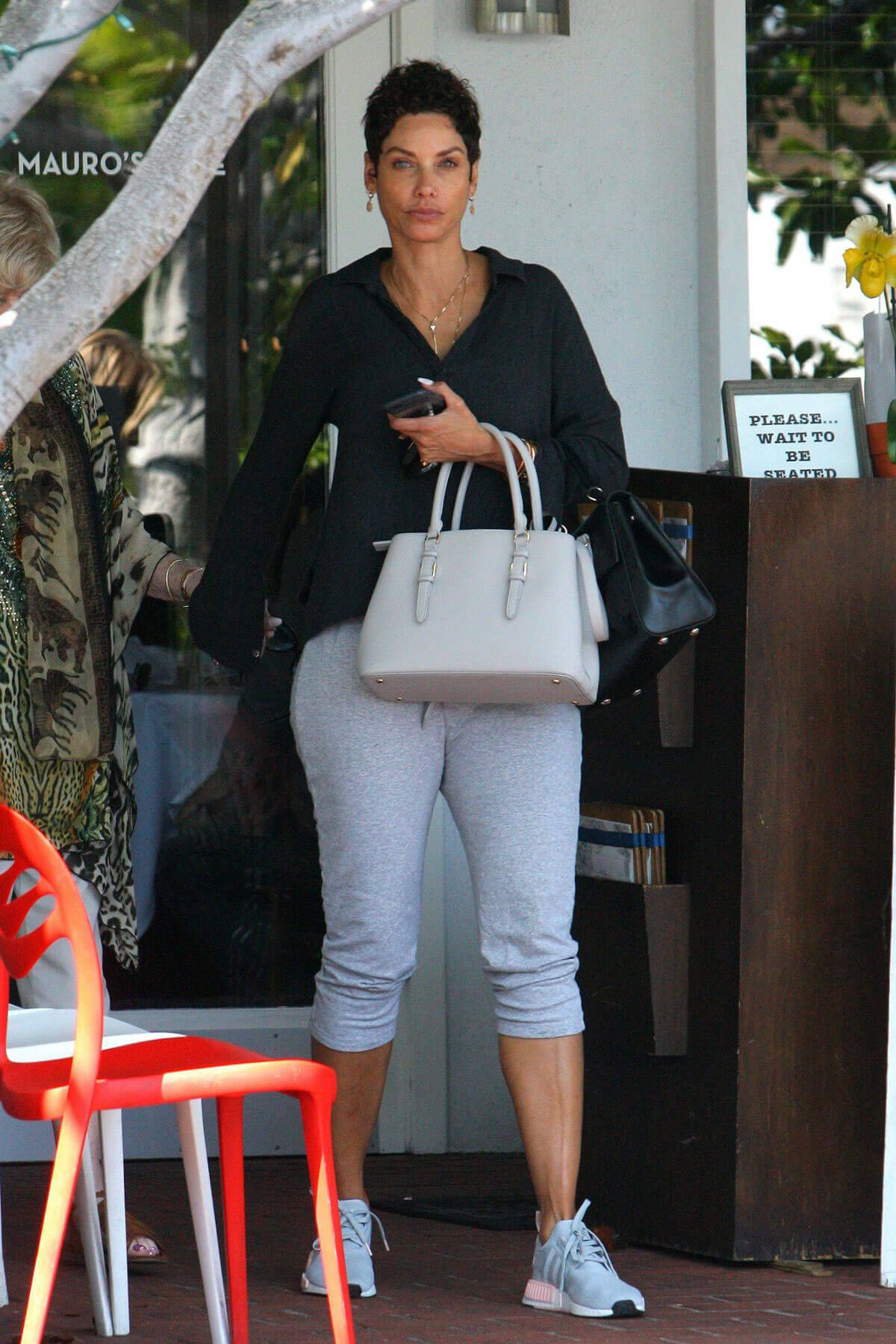Nicole Murphy Out for Lunch in West Hollywood