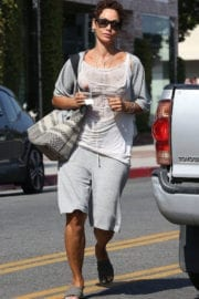 NICOLE MURPHY Out for Shopping in West Hollywood