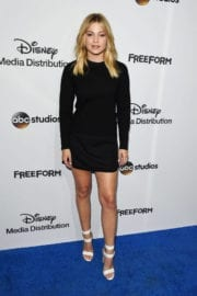 Olivia Holt at 2017 ABC/Disney Media Distribution International Upfront in Burbank