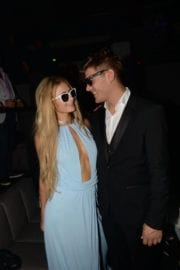 Paris Hilton and Chris Zylka at Akon Concert in Cannes