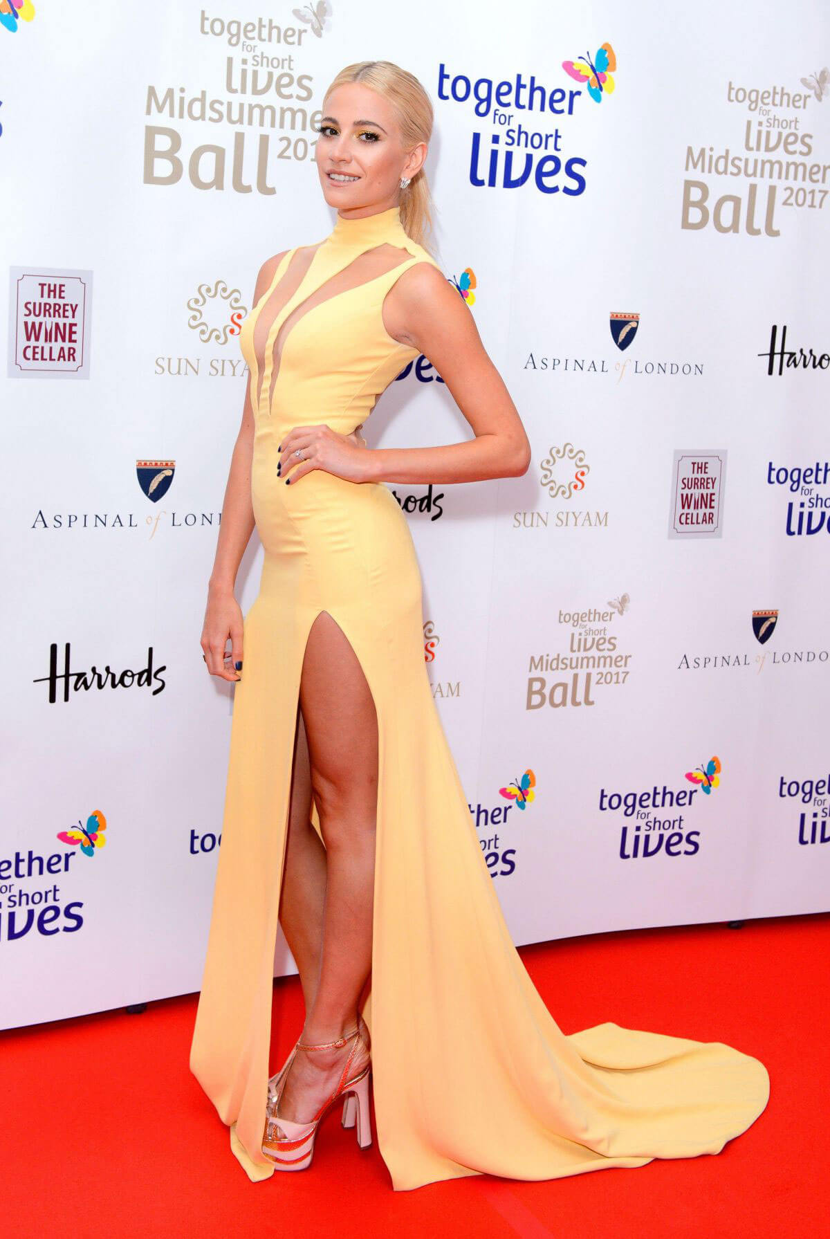PIXIE LOTT at Together for Short Lives Midsummer Ball in London