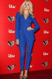 PIXIE LOTT at Voice Kids TV Show Photocall in London