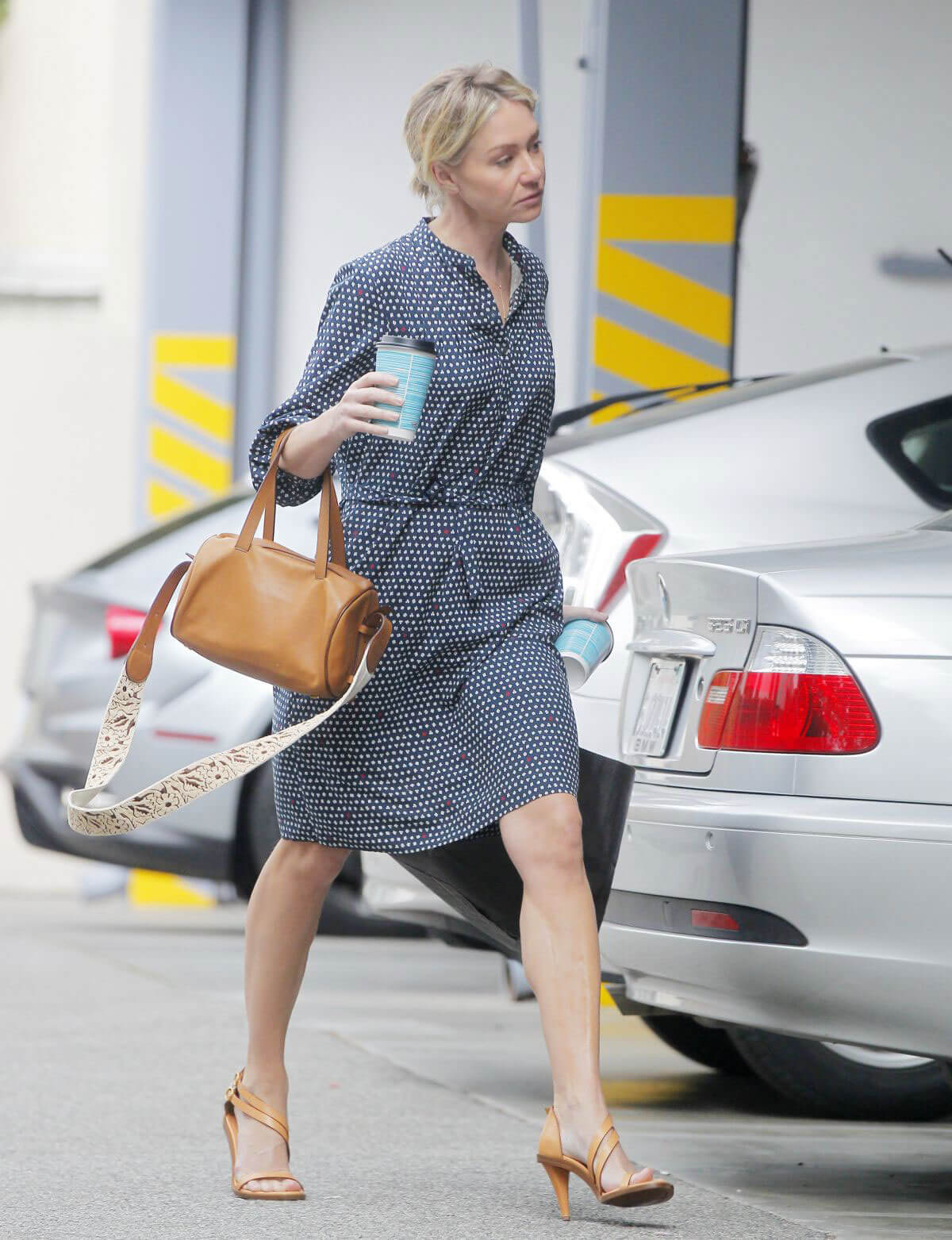 Portia de Rossi Out and About in Beverly Hills
