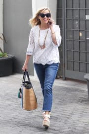 REESE WITHERSPOON Out in Beverly Hills