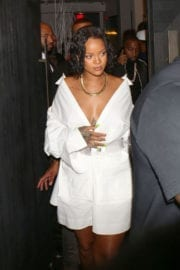 RIHANNA at Revolve Launch: Madeworn x Roc96 Capsule in Los Angeles