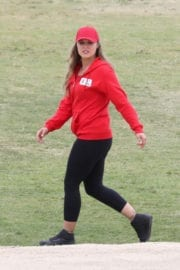 RONDA ROUSEY on the Set of Battle of the Network Stars, Show in Los Angeles