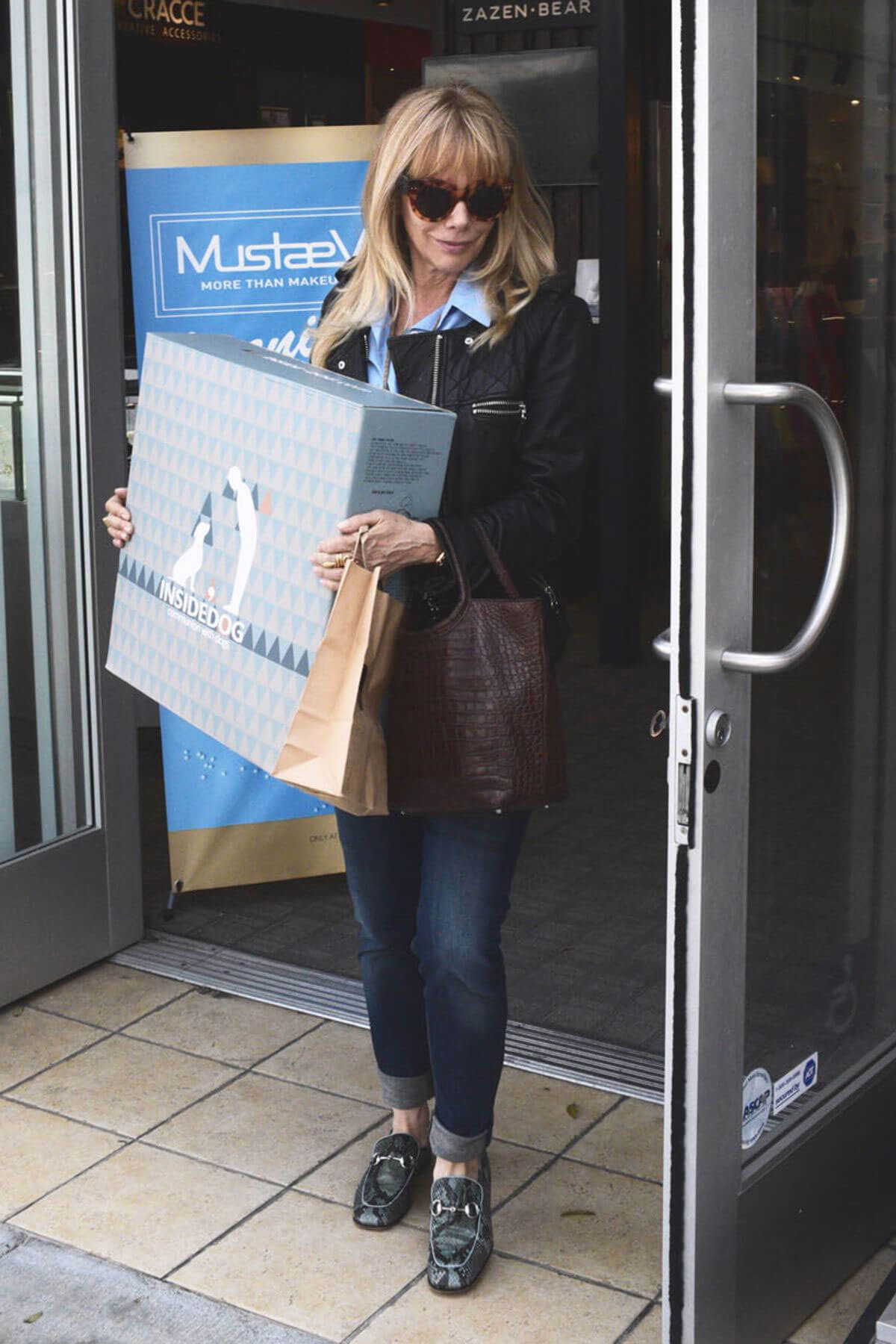 ROSANNA ARQUETTE Out for Shopping in Beverly Hills