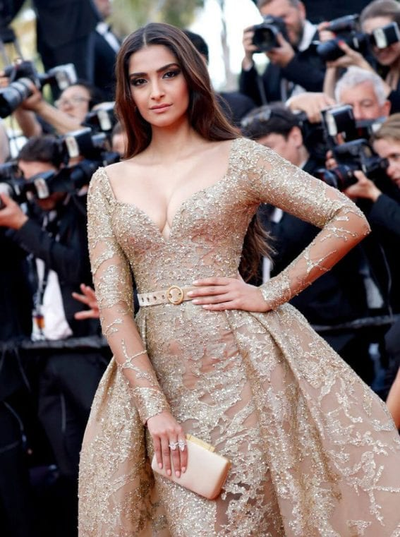 Sonam Kapoor at The Killing of a Sacred Deer Premiere at 70th Annual Cannes Film Festival