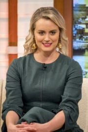 TAYLOR SCHILLING at Good Morning Britain Show in London