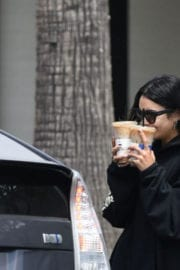 VANESSA HUDGENS Leaves Morning Workout in Los Angeles