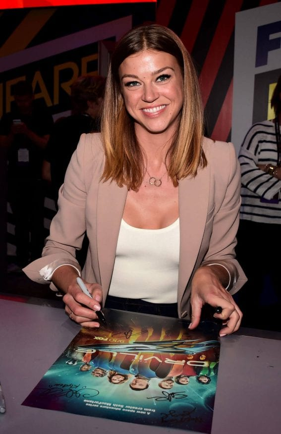 Adrianne Palicki Stills at The Orville Panel at Comic-con in San Diego