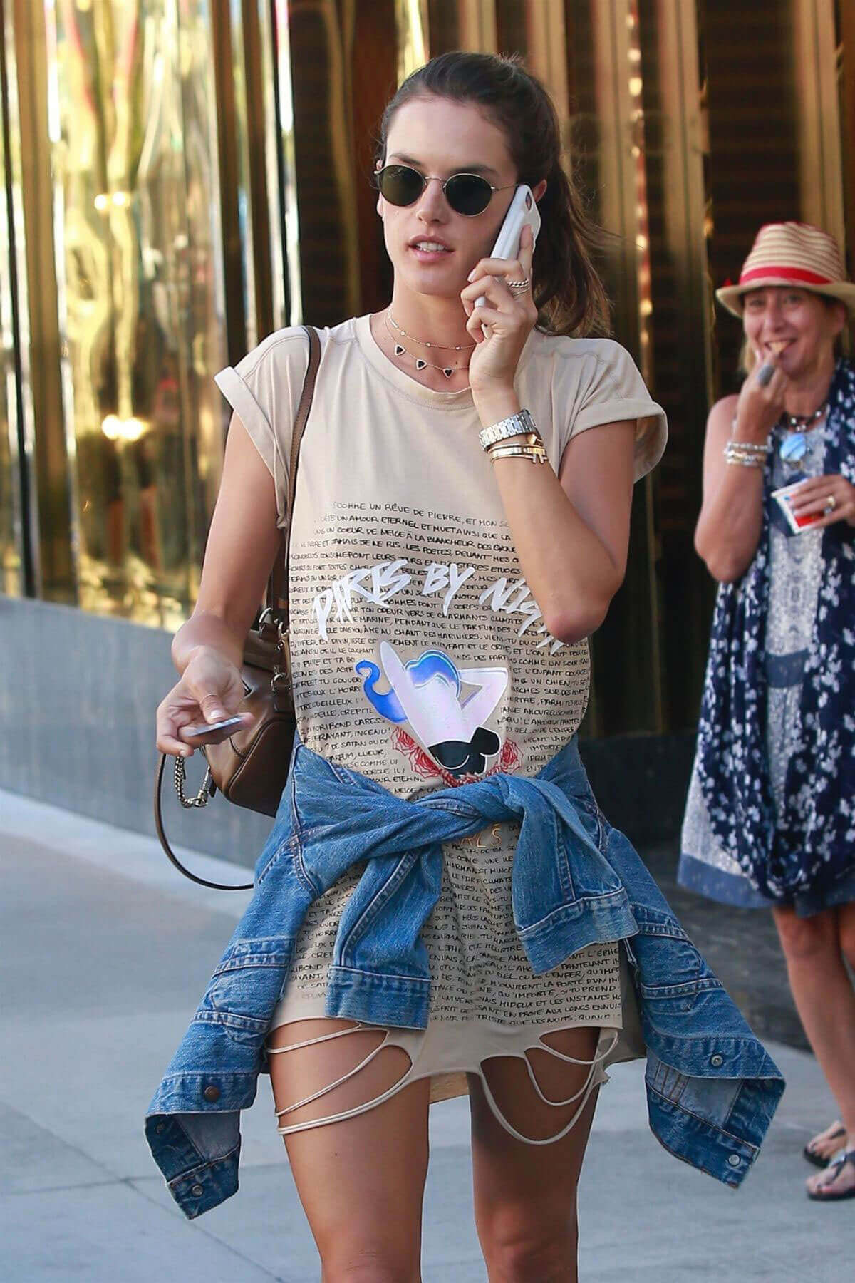 Alessandra Ambrosio Photos Out in Beverly Hills