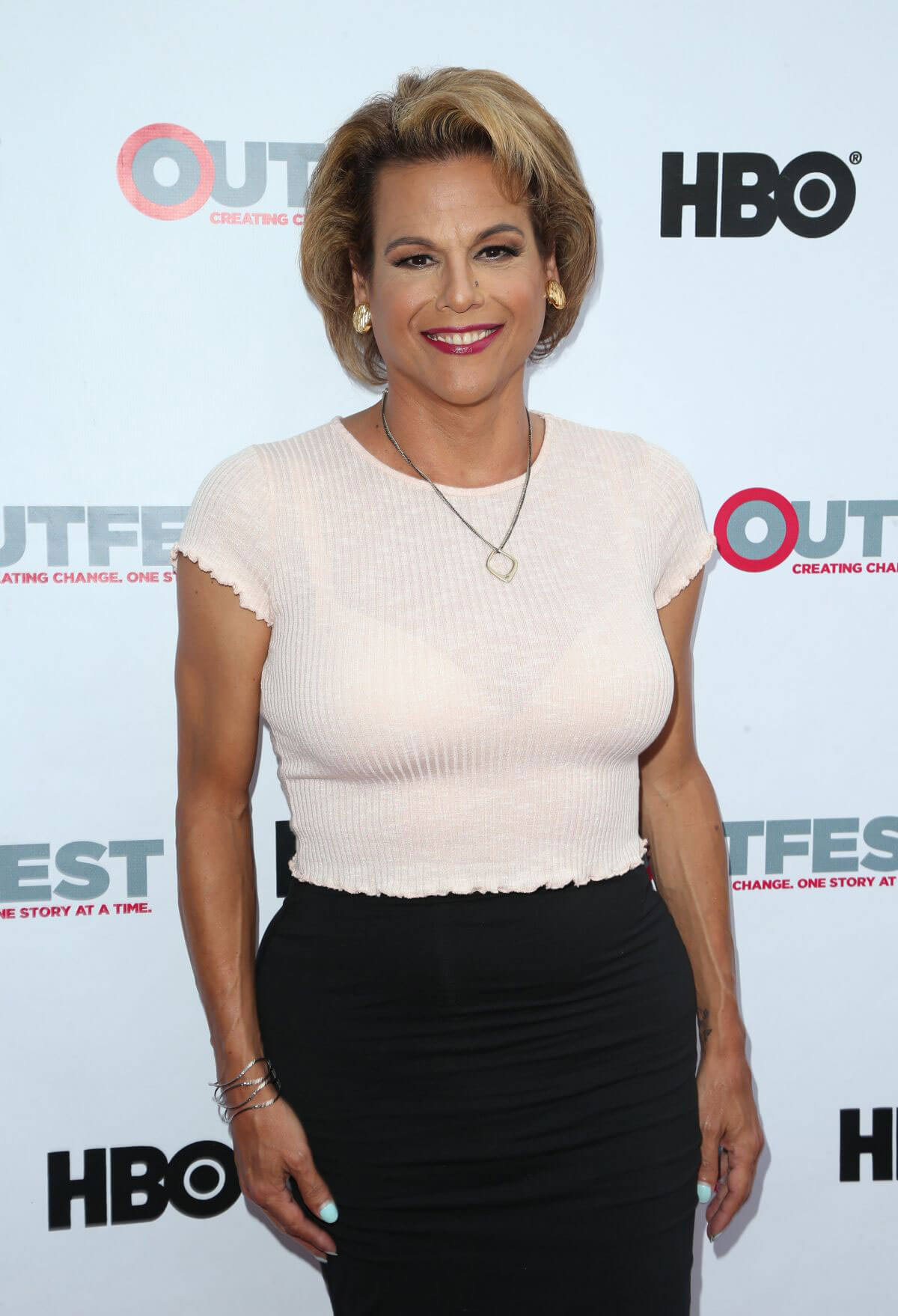 Alexandra Billings Stills at Transparent Season 4 Screening at 2017 Outfest Los Angeles LGBT Film Festival