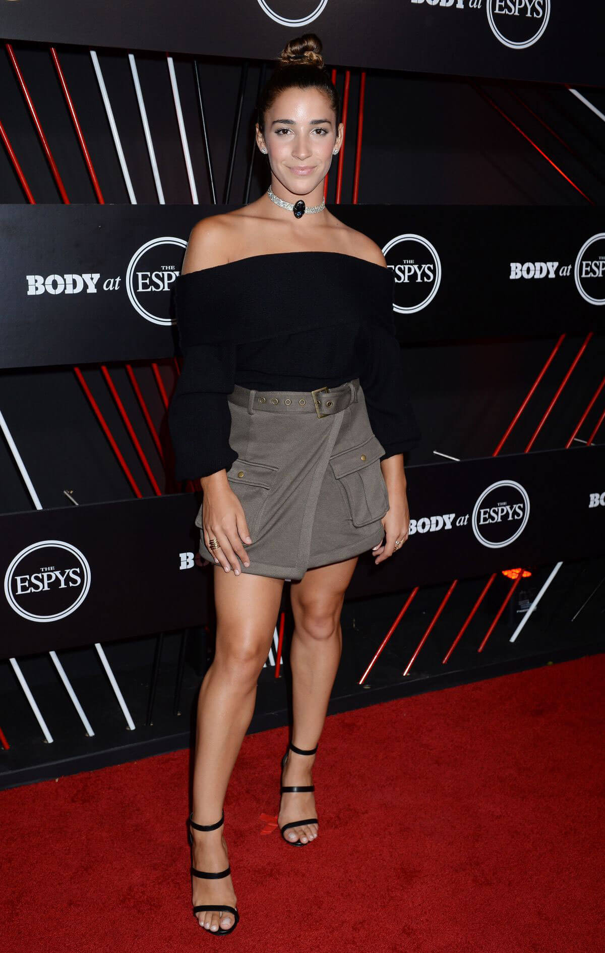 Aly Raisman Stills at Body at Espys Party in Hollywood