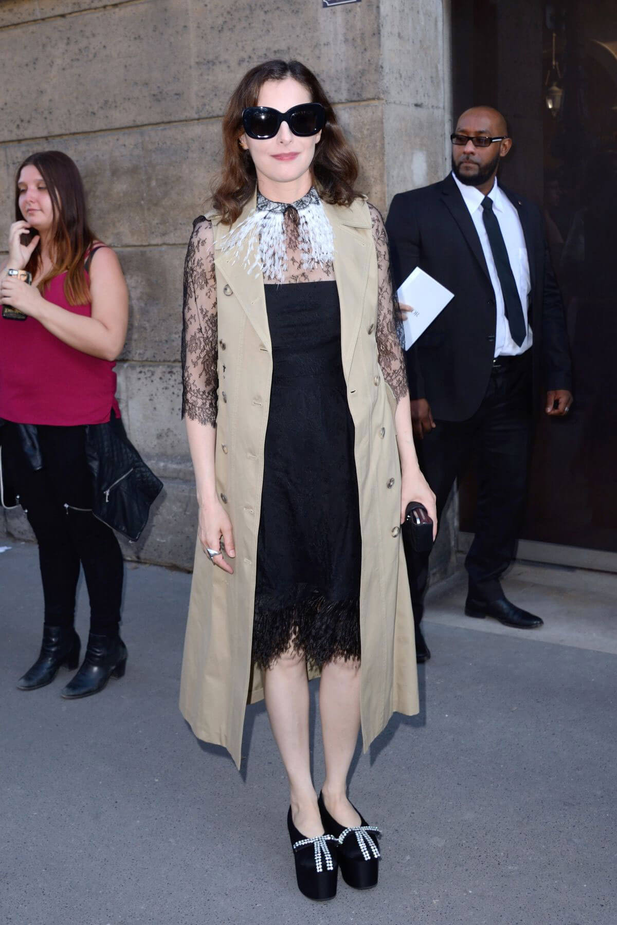 Amira Casar Stills at Christian Dior Show at Haute Couture Fashion Week in Paris