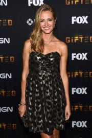 Amy Acker Stills at The Gifted Party at Comic-con in San Diego