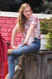 Angourie Rice Stills on the Set of Every Day in Toronto