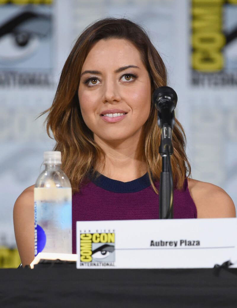 Aubrey Plaza Photos at Legion Panel at Comic-con in San Diego