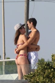 Aurora Ramazzotti and Goffredo Cerza Stills at a Pool in Fregene