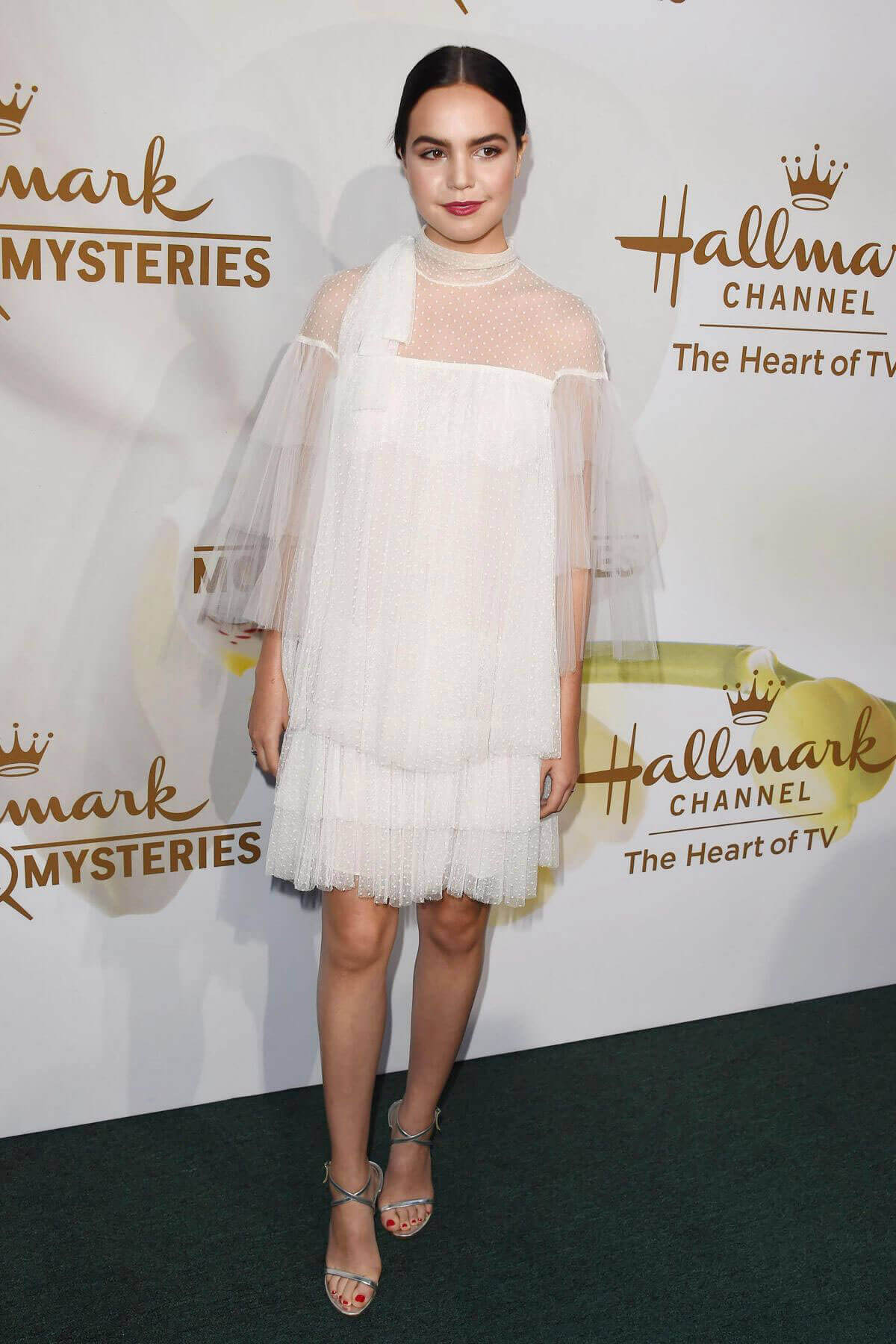 Bailee Madison Stills at Hallmark Event at TCA Summer Tour in Los Angeles