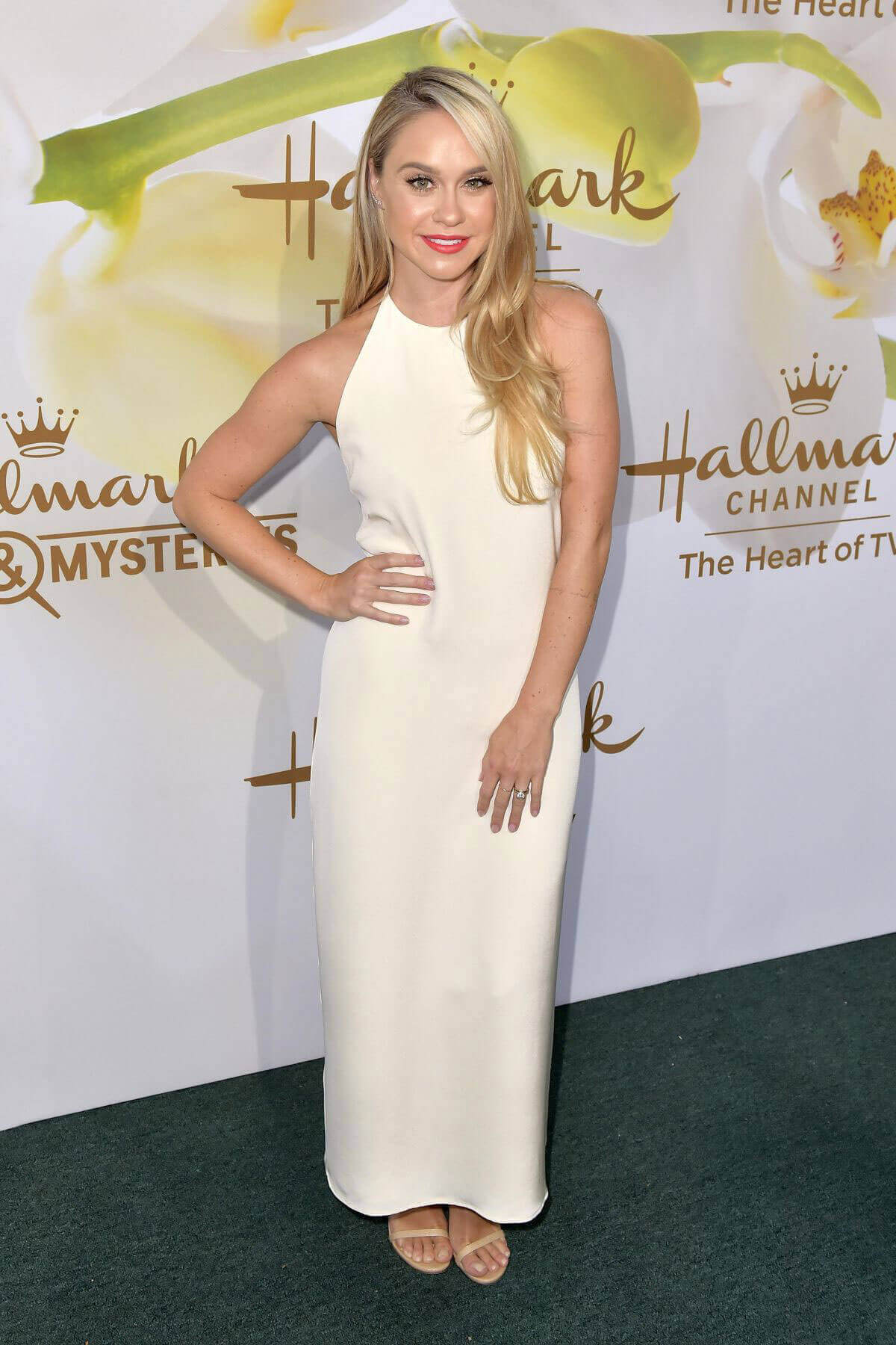 Becca Tobin Stills at Hallmark Event at TCA Summer Tour in Los Angeles