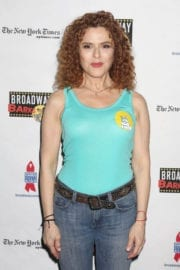 Bernadette Peters Stills at 19th Annual Broadway Barks Animal Adoption Event in New York