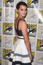 Brianna Hildebrand Stills at The Exorcist Press Line at Comic Con in San Diego